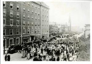 Hawthorne Hotel Salem MA grand opening
