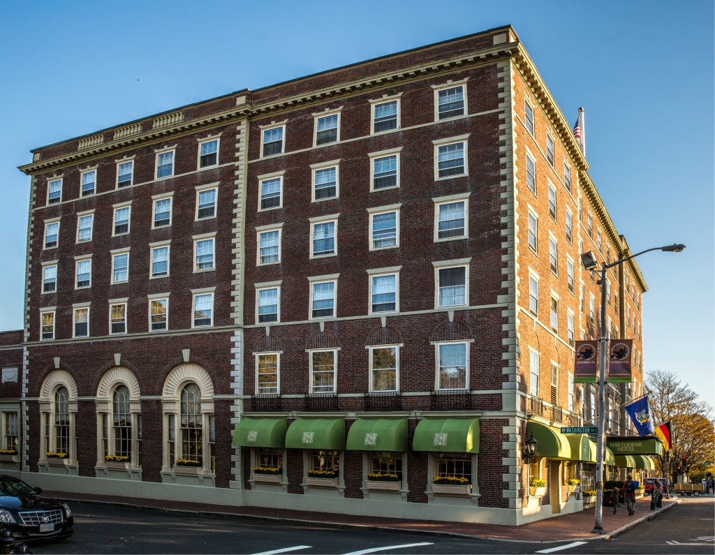 Hawthorne Hotel in the Heart of Salem, MA
