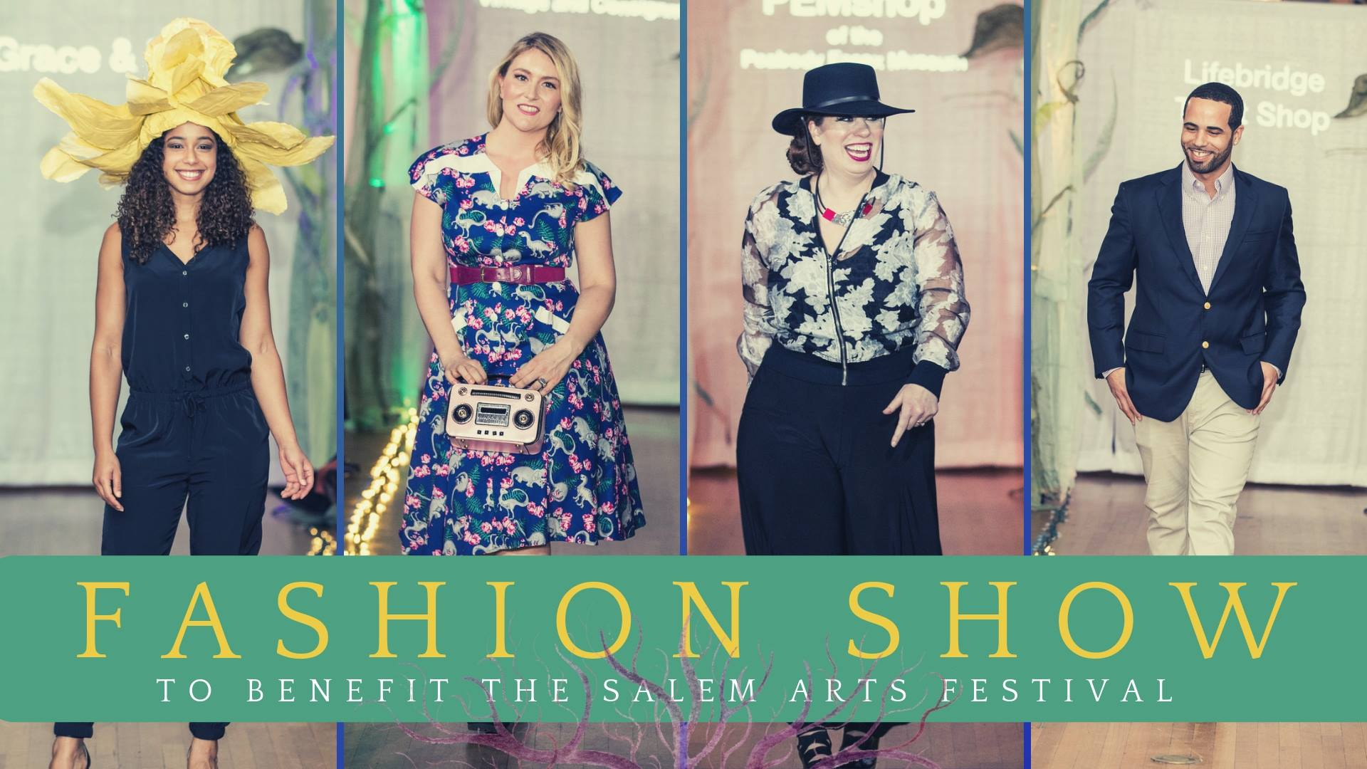 Salem Arts Festival Fundraiser: Fashion Show